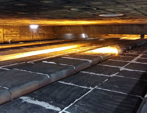 Walking hearth revamped for primary steel industry